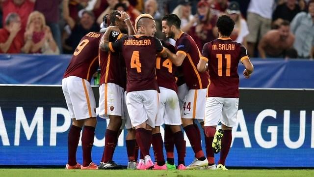Roma, Barça'dan puanı kopardı!