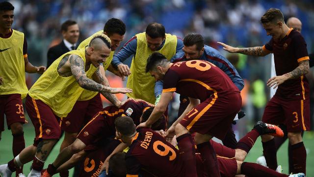 Derbide zafer Roma'nın
