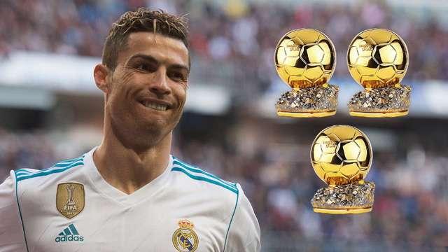 Ronaldo: Üç Ballon d'Or daha istiyorum