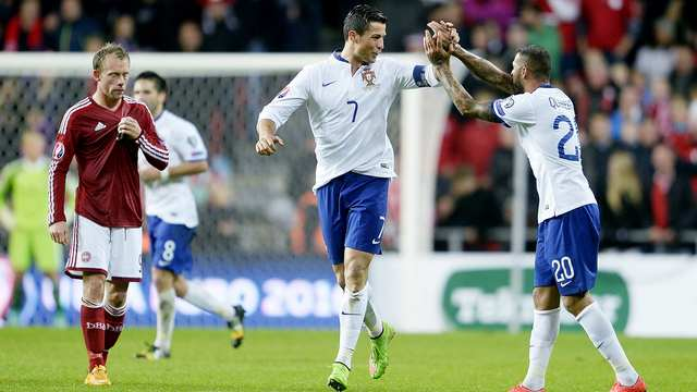 Quaresma ortaladı, Ronaldo attı!