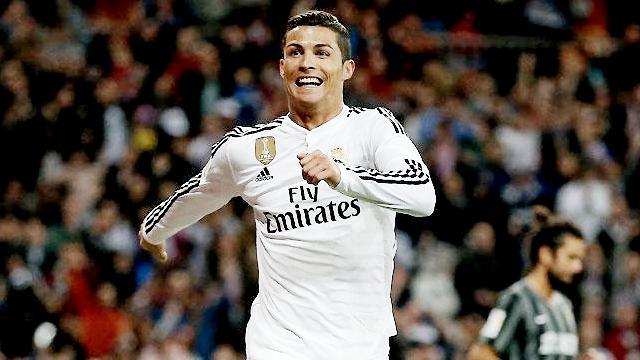 Bu alanda da en iyisi Ronaldo!