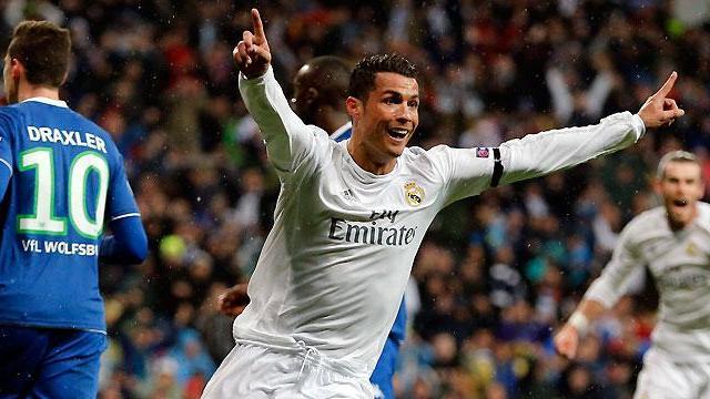 Ronaldo 3-0 Wolfsburg