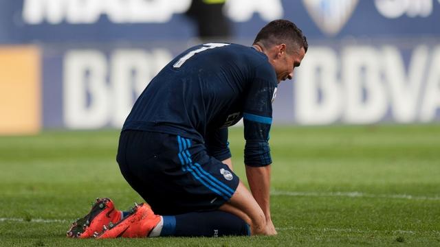 Real Madrid'e Malaga freni