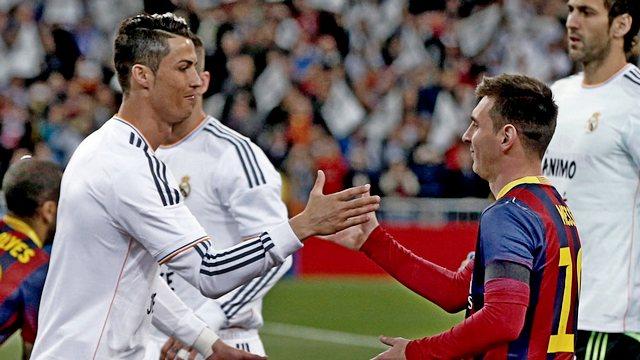 'Messi film yıldızı, Ronaldo makine'