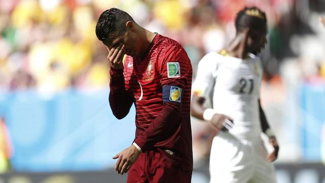 Ronaldo Portekiz'e yetmedi