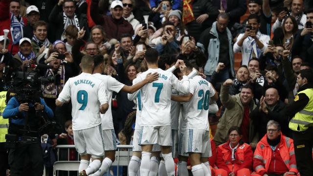 Real Madrid işi ilk yarıda bitirdi