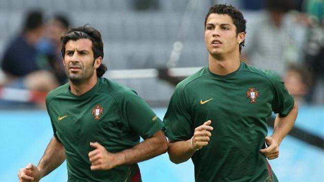 Ronaldo efsaneyi yakaladı