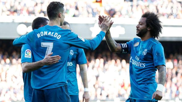 Ronaldo, Real Madrid'i galibiyete taşıdı