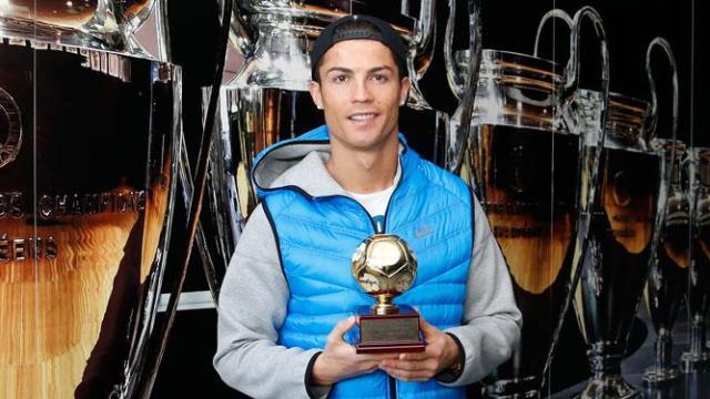 Ronaldo ödüle doymuyor
