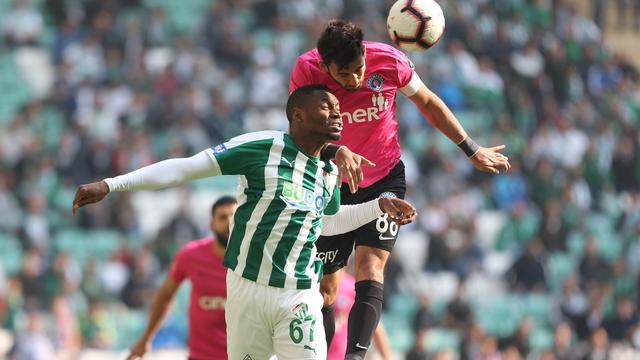 Bursaspor'da Sakho, 6 hafta yok!