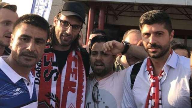 Samaras Samsun'a geldi