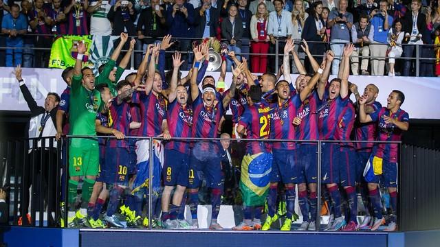 Devler Ligi Barça'nın!