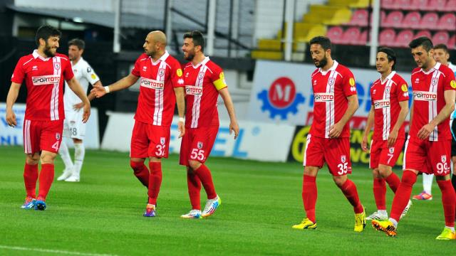 Samsunspor'da play-off sevinci