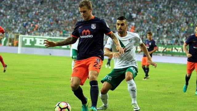 Başakşehir Bursa'da kazandı