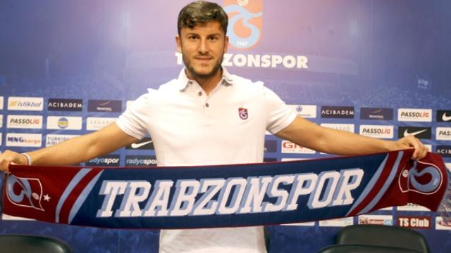 Trabzonspor yeni transferini duyurdu