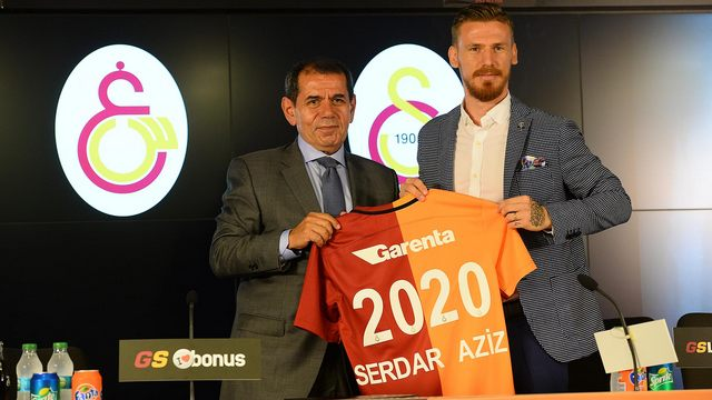Galatasaray'da Serdar şoku!