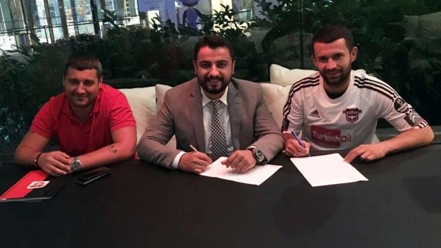 Gaziantepspor ilk imzayı attırdı