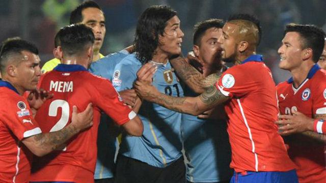 Olaylı maçta Şili güldü