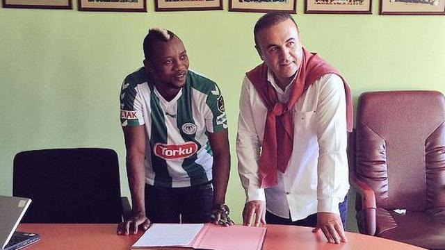 Konyaspor, Sissoko'ya imzayı attırdı