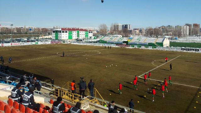 Amed Sportif sahaya çıkmama kararı aldı