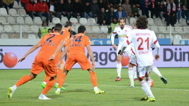 Sivas'ta gol düellosu