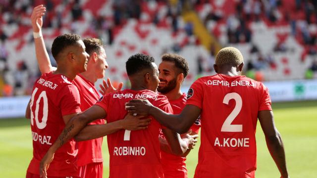 Sivasspor'un galibiyet hasreti sona erdi