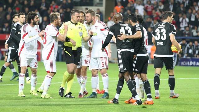 Sivasspor'dan Beşiktaş açıklaması