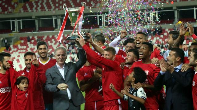 20. Cumhuriyet Kupası Sivasspor'un