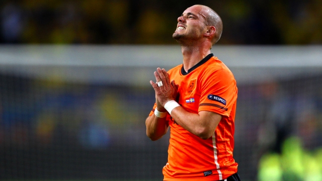 Hamzaoğlu Sneijder'e fena sallamıştı!