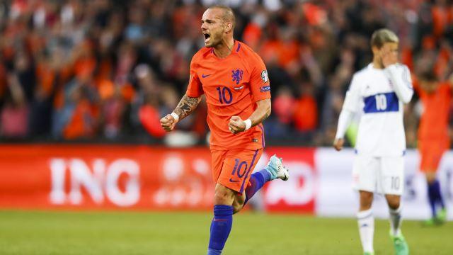 Sneijder'den veda
