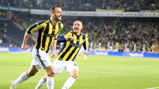 Fenerbahçe'de Giuliano bayramı