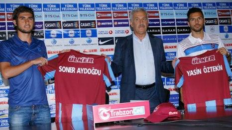 Trabzonspor'da İmza Şov