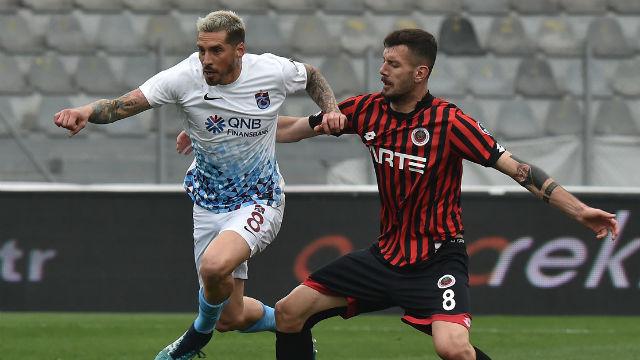 Trabzonspor beraberliğe abone