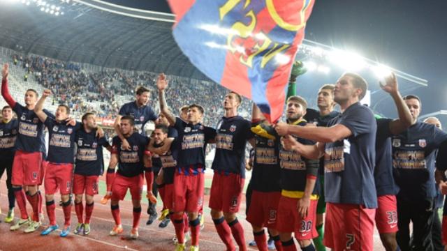 Steaua 25. kez şampiyon