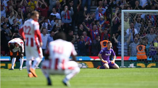 Stoke City küme düştü