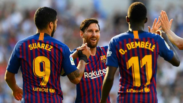 Barcelona, Sociedad'ı 3 dakikada devirdi