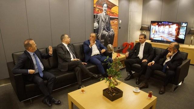 Mustafa Cengiz, Terim'le bir araya geldi