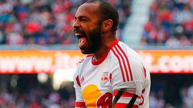 Thierry Henry veda etti!
