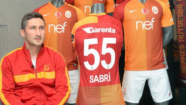 Sabri'nin 350. maç heyecanı
