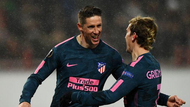 İlk çeyrek finalist Atletico Madrid
