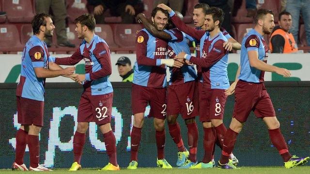 Trabzonspor Avrupa'yı seviyor
