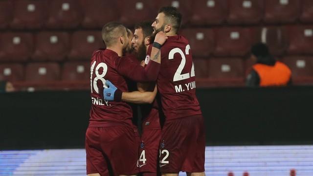 Trabzonspor çok rahat...