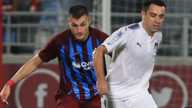 Trabzonspor, Xavi ve arkadaşlarını devirdi