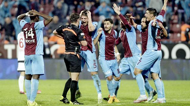 Trabzonspor sonradan açıldı!