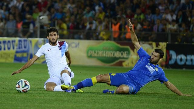Trabzonspor turu kaptı