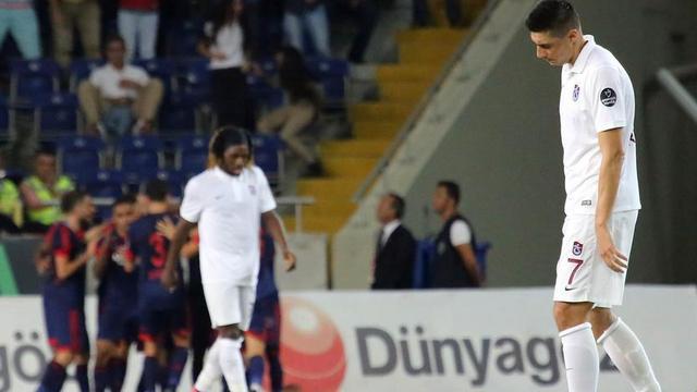 Trabzonspor virajı alamadı!