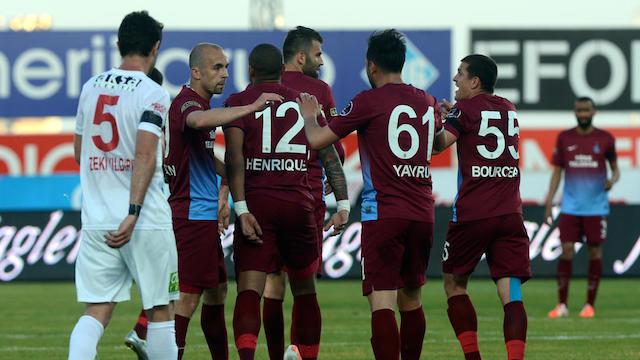 Trabzon dördüncü bitirdi