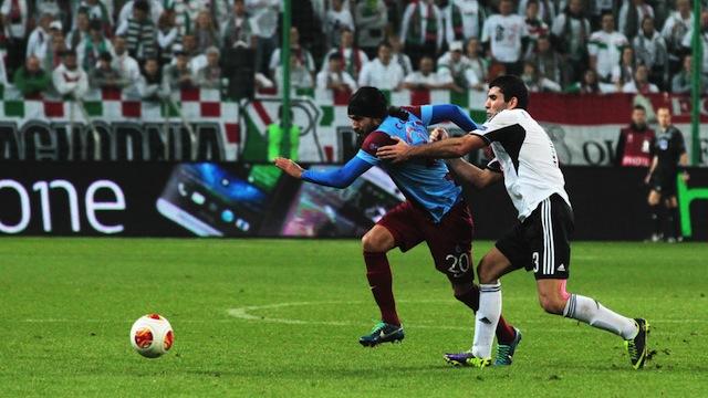 Trabzonspor zirveyi bırakmadı