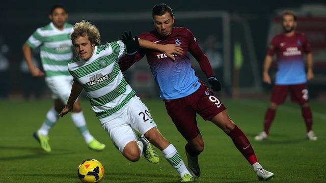 Trabzon Celtic'e boyun eğdi