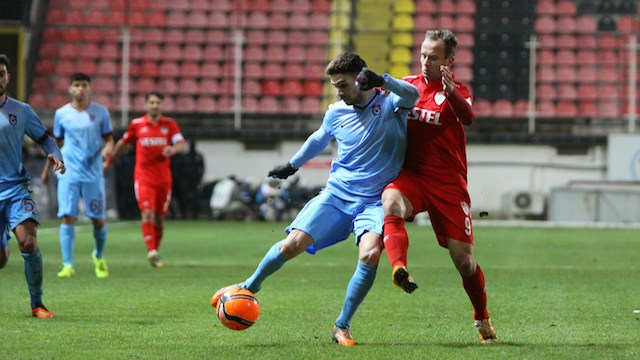 Trabzon'a kupa morali